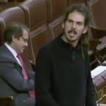 Pocas veces se había oído algo así entre un diputado de Podemos y otro del PP: