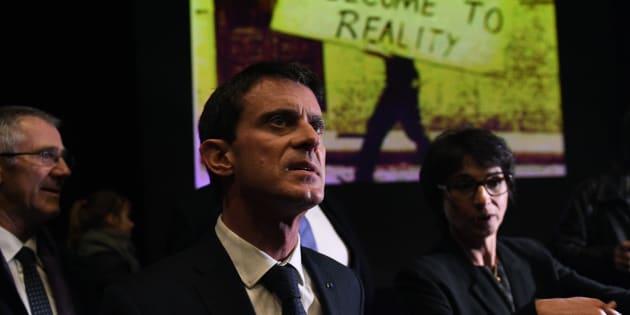 Manuel Valls à La Rochelle le 15 décembre 2016.
