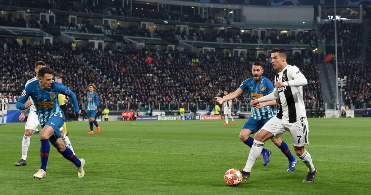 Juventus-Atletico Madrid, vedi alla parola Remuntada