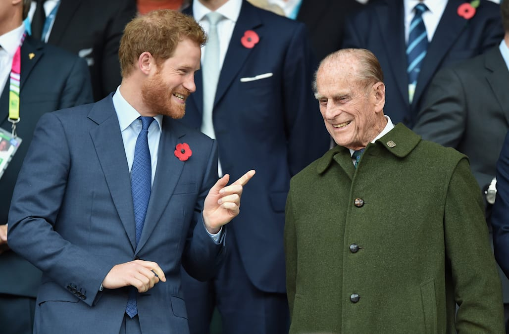 Young Prince Philip bears a striking resemblance to Prince ... Young Prince Philip Prince Harry
