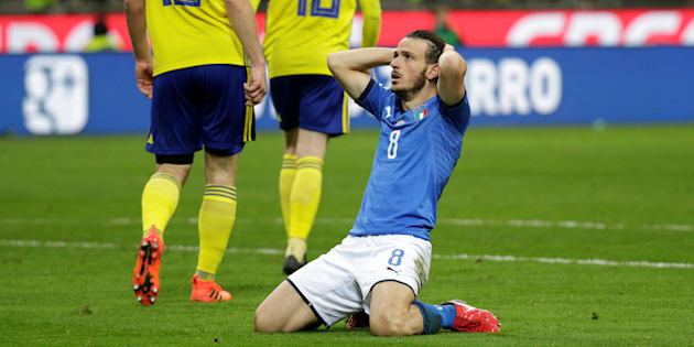 Éliminée par la Suède, L'Italie ne participera pas à un Mondial pour la 1ère fois en 60 ans