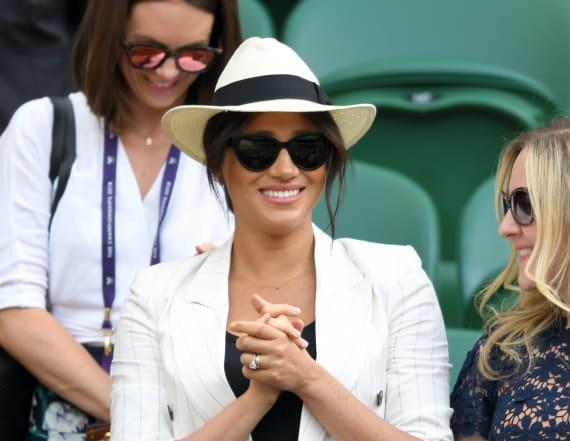 Did Duchess Meghan break Wimbledon etiquette?