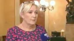 La députée Marine Le Pen explique pourquoi elle est au Sénat ce