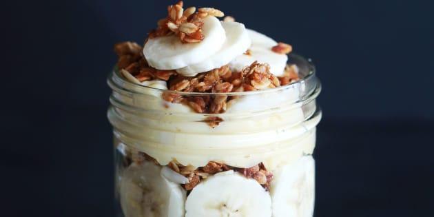 Banana pudding and granola trifle, anyone?