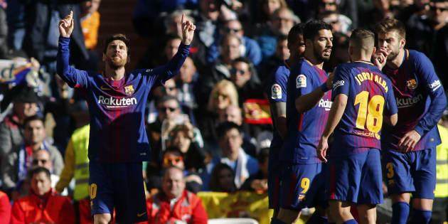 Real Madrid - FC Barcelone: le Barça de Lionel Messi sort vainqueur d'un match explosif