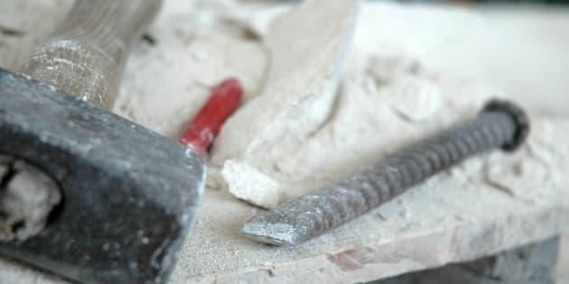 attrezzi da lavoro scultore e artigiano