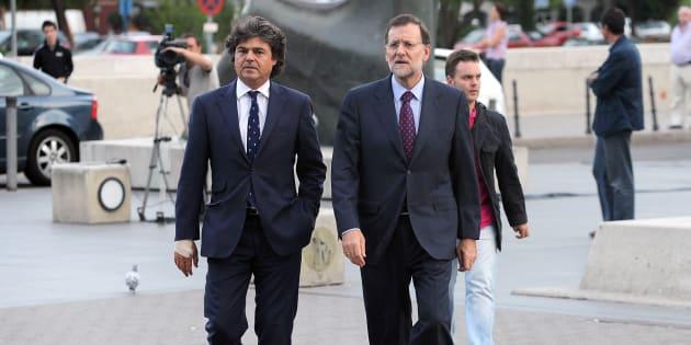 Jorge Moragas y Mariano Rajoy en una foto de archivo.