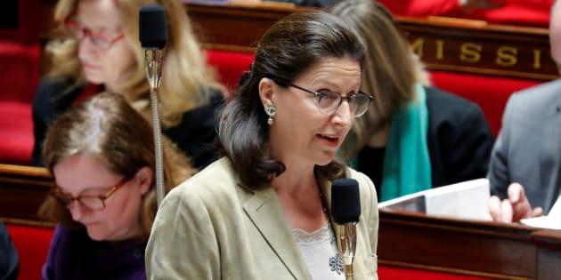 Agnès Buzyn à l'Assemblée nationale au mois de janvier.