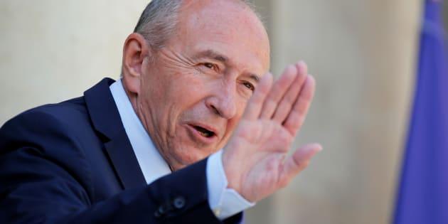 """""""Gérard Collomb a changé de parti mais aussi de cerveau"""", accuse Olivier Faure."""