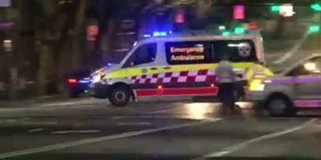 A young man has died after being struck by a bus in Sydney.
