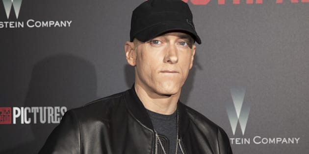 """Dans """"Killshot"""", un morceau inédit, Eminem s'en prend violemment au rappeur Machine Gun Kelly."""