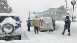 豪雪続く、北陸を中心に記録的な大雪