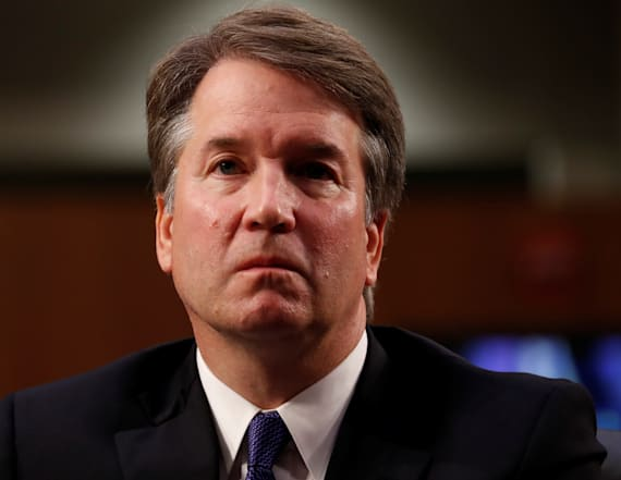 Kavanaugh: woman was the subject of suggestive joke