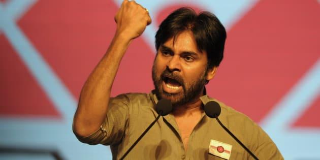 File photo of Telugu film actor Pawan Kalyan.