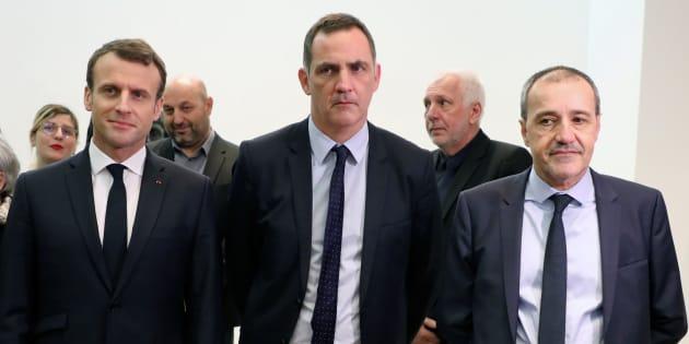 Les nationalistes corses (dont Gilles Simeoni et Jean-Guy Talamoni) boycottent le déjeuner avec Macron