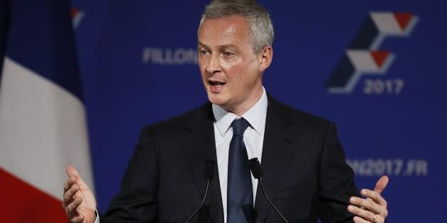 Bruno Le Maire n'est plus représentant de François Fillon.