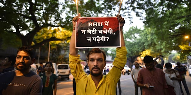 BHU on edge as another girl alleges molestation, sexual assault on campus