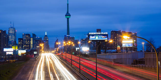 The Gardiner Expressway in Toronto. The OECD is forecasting that Canada's economic growth will beat all its G7 peers this year.