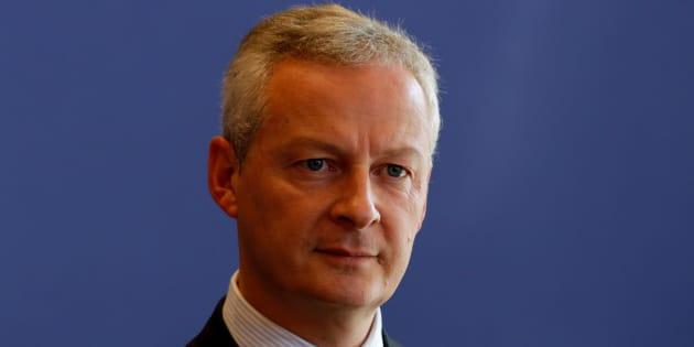 Bruno Le Maire à Paris le 14 septembre 2017.