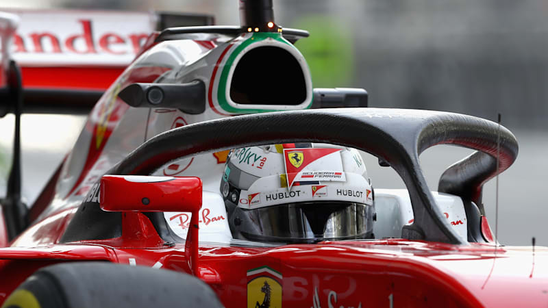 F1 halo can withstand weight of double-decker bus