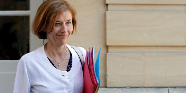 La ministre des Armées Florence Parly, le 21 juillet à Matignon.