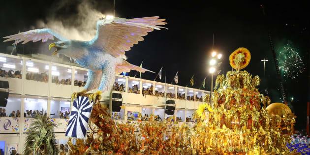 Desfile da Portela no carnaval de 2017