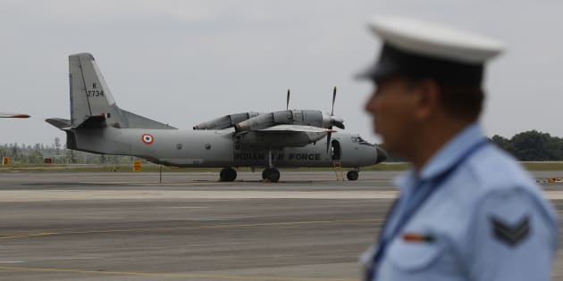 An Indian Air Force (IAF) AN-32 aircraft.