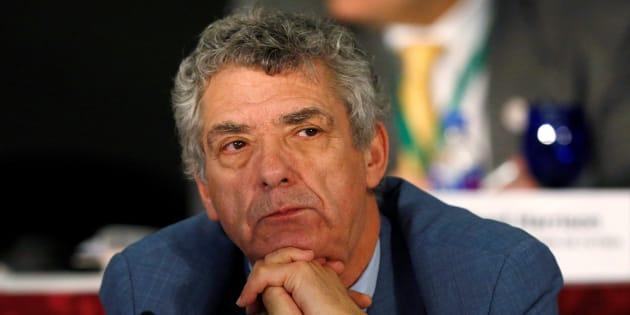 Ángel Maria Villar en un congreso de la FIFA en México. REUTERS/Henry Romero
