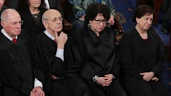 Watching Supreme Court Justices Watch Trump Is Your New Favorite