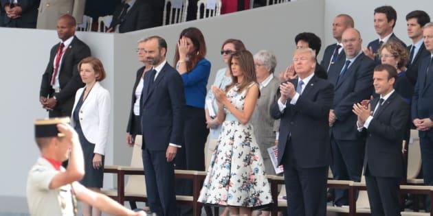 14-Juillet: Revivez le défilé militaire sur les Champs-Élysées avec Macron et Trump