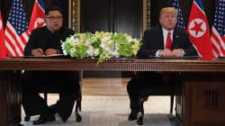 Trump y Kim firman un acuerdo conjunto al cierre de la histórica Cumbre de