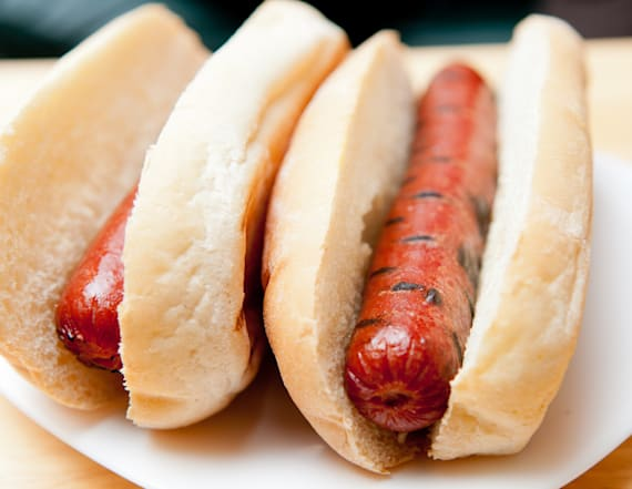 Hot dogs recalled after metal contamination