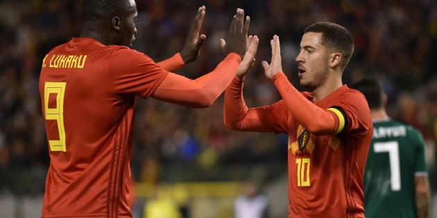 Romelu Lukaku et Eden Hazard joueront contre la Tunisie à la Coupe du monde 2018.