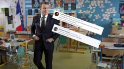 Macron réforme l'école comme personne