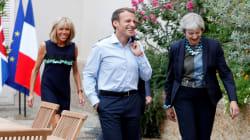 En vacances, Macron a reçu May à Brégançon pour parler des relations futures entre Paris et