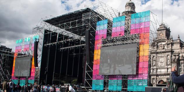 La Plaza de la Constitución será el escenario del primer encuentro de AMLO con los mexicanos como presidente de México.