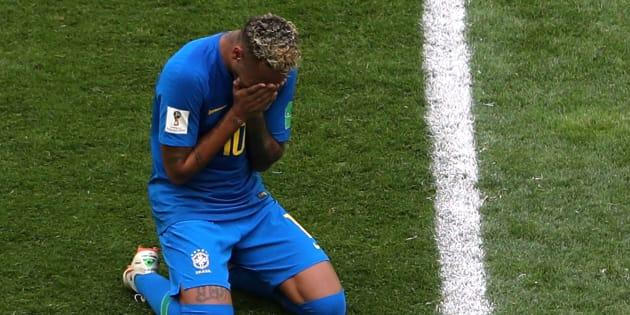 Brésil - Costa Rica à la Coupe du Monde 2018: la simulation grotesque et les larmes de Neymar en vidéo