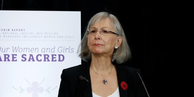 La présidente de la commission d'enquête, Marion Buller.