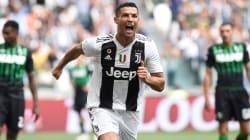 Le premier but de Ronaldo avec la