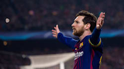 Grâce à Messi, le Barça est le dernier qualifié pour les quarts de Ligue des