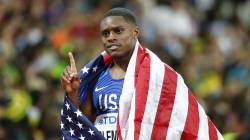 Ce sprinteur américain a battu un record du monde vieux de 20