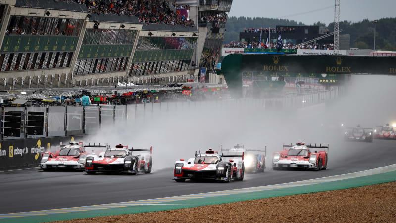 Nächstes Jahr werden die Rennwagen der 24 Stunden von Le Mans mit Weintrub betrieben