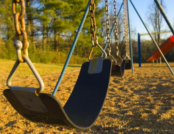 Police: Swing set collapses, kills 4-year-old