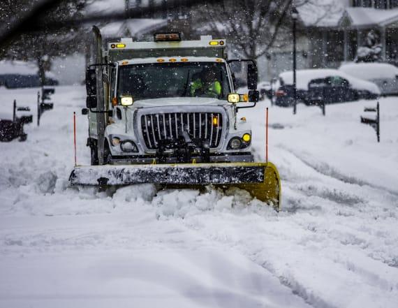 Winter storm taking aim at U.S. region