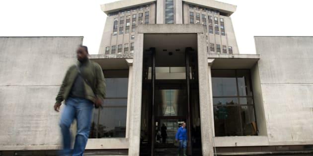 Le Tribunal de grande instance de Créteil menace de libérer des détenus - Photo prise le 2 novembre 2010