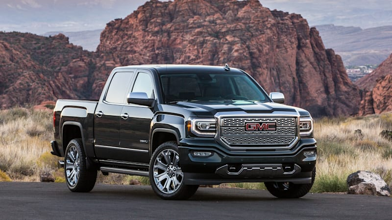 the 2018 gmc sierra denali 1500 is the sister truck to the chevy silverado 1500 autoblog. Black Bedroom Furniture Sets. Home Design Ideas