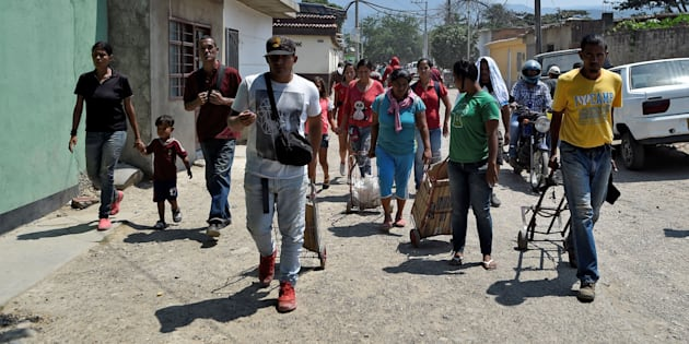En Colombie, dont ici à Villa Del Rosario, il y aurait plus d'un million de réfugiés en provenance du Venezuela.