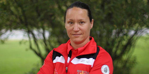 Team Canada co-captain Natacha Dupuis of Gatineau, Que., a member of Canada's Invictus Games team, is shown in Ottawa on Wednesday.