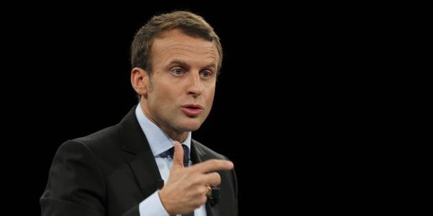 L'ancien ministre de l'Economie Emmanuel Macron le 4 octobre 2016