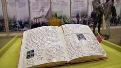 Anne Frank avait caché deux pages où elle écrivait sur le